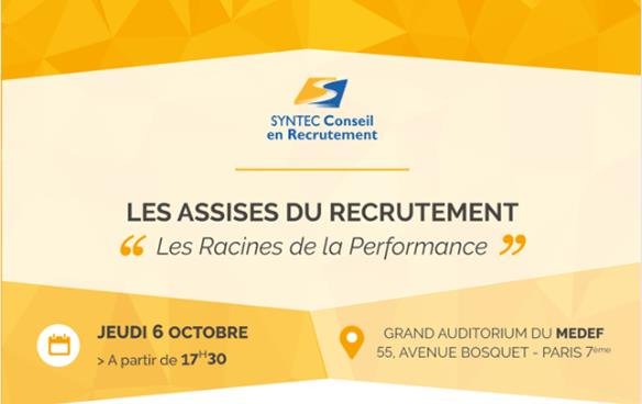 Assises du recrutement Syntec